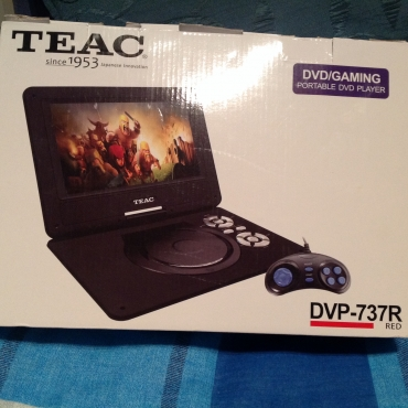 DVD/GAMEING Teac BRAND NEW sealed in box with joystick
