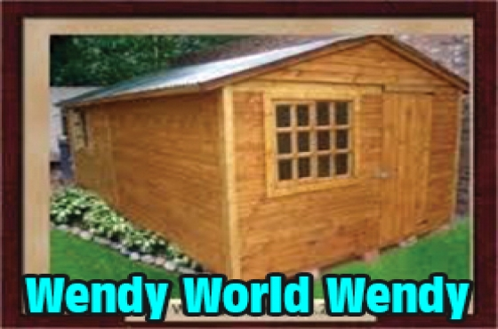 WENDYS - Log, Knotty pine & Paving