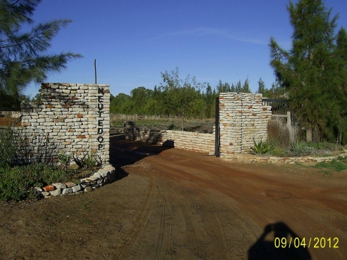 NIEUWOUDTVILLE : WONDERFUL PLOTS FOR SALE IN PRIVATELY GATED ESTATE.