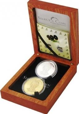 Mandela Centenary Coin Set