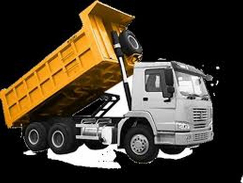 Tipper truck hire, 10meter trucks only