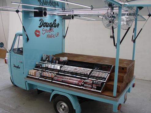 Farmers Market- Mobile Display vehicle