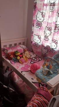 Wit toddler bed the koop