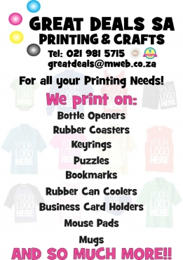 Personalized Printing & Gifts