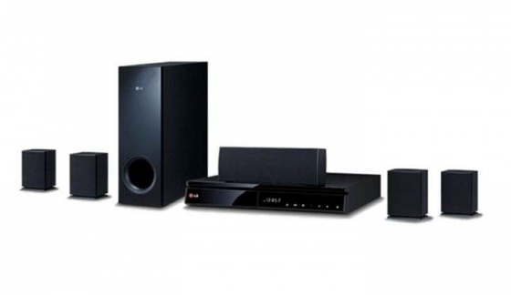 LG Dvd Full HD Home Theatre System - 5.1 Channel 1000 Watt
