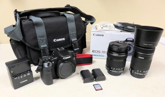 Best Bargain On Canon EOS 70D Twin Kit