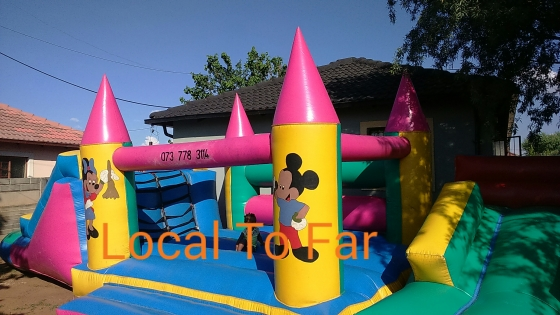 Jumping castle for hire, Decor and catering , cheap price for quality