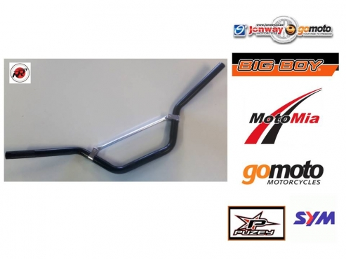 Handlebar Black for 50-125cc Dirt Bikes  #0110