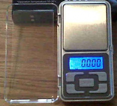 Precision electronic digital pocket scale