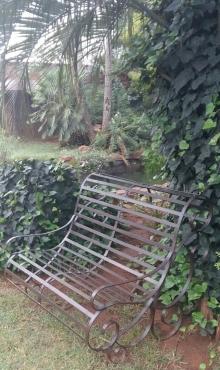 Garden bench -  Wrought Iron