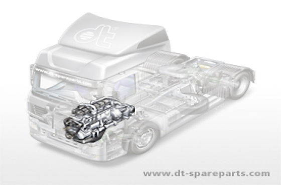 Truck parts for the engine: