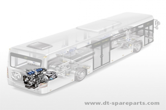 Bus parts for the engine: