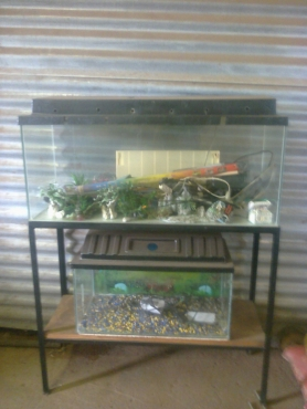 2 Fishtanks for sale with stand