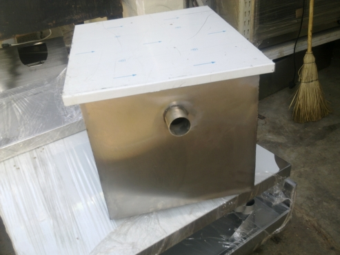 Stainless steel grease traps fat traps