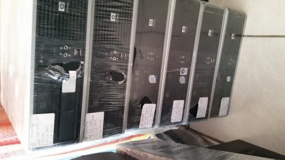 Hp Compaq Core 2 Duo Desktops