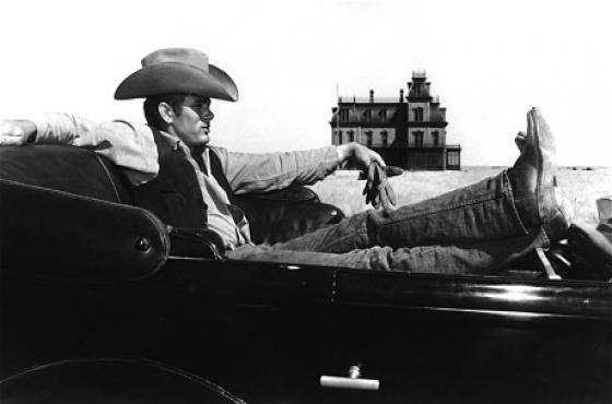 Original James Dean GIANT collectable vintage movie poster