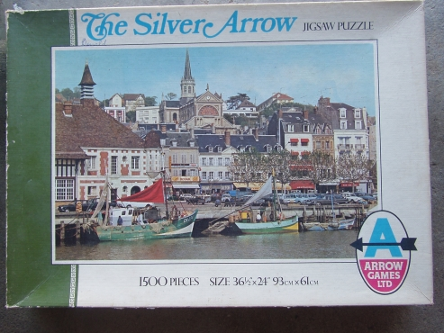 Jigsaw Puzzle - Silver Arrow 1500 Piece - By Arrow Games