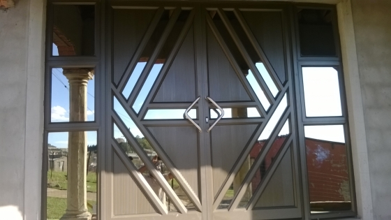 Aluminium Doors And Windows As Well As Stainless Steel
