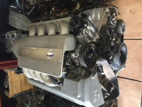 Volvo V8 Engine for