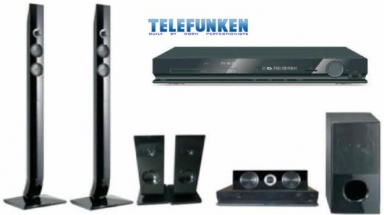 brand new Telefunken 5.1 Channel Home Theatre System (THT-906HDMI)