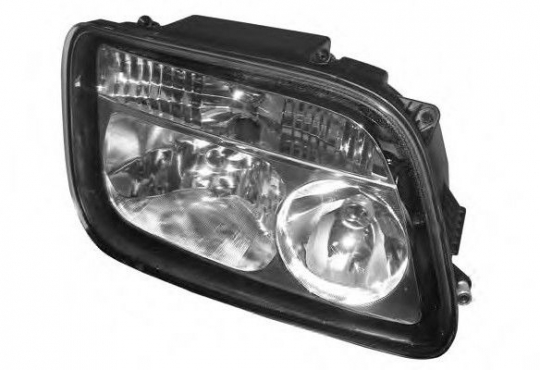 Mercedes Actros MP2 Head Lamp - Manual