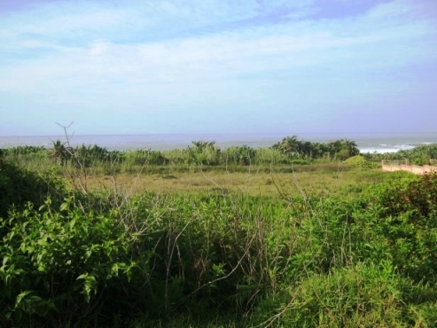 On the Beach-Vacant Stand with Lovely Sea Views- for sale in Port Edward