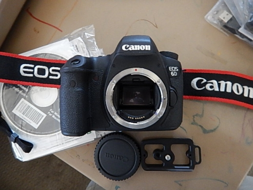 Canon 6D Body Only For Sale