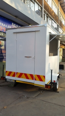 Branded mobile kitchen