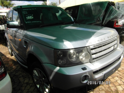Landrover Range Rover Sport 4.2 V8 Now Stripping for parts