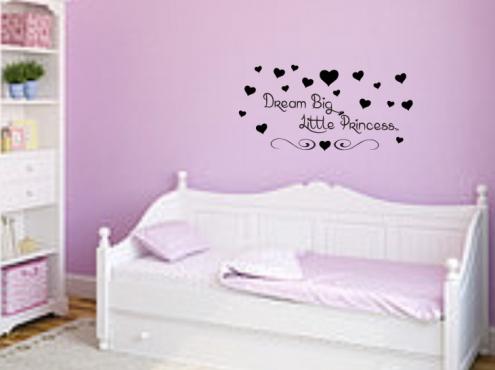 Vinyl Sticker Dream Big Prince/Princess