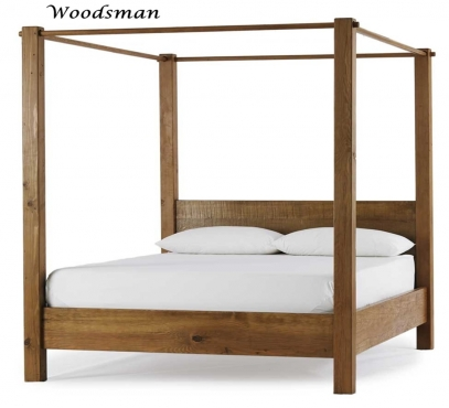 Custom Hand Crafted Solid Wood Four Poster Beds and Furniture