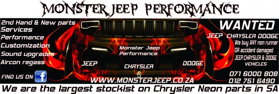 JEEP,CHRYSLER AND DODGE SPARES