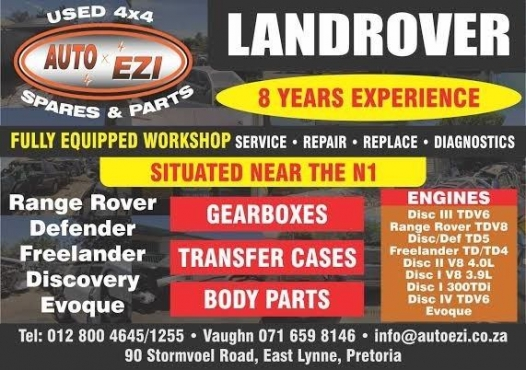 Service for Landrover Vehicles