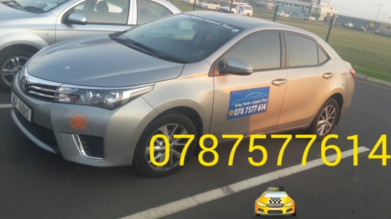 Taxi service covering all areas in Durban airport