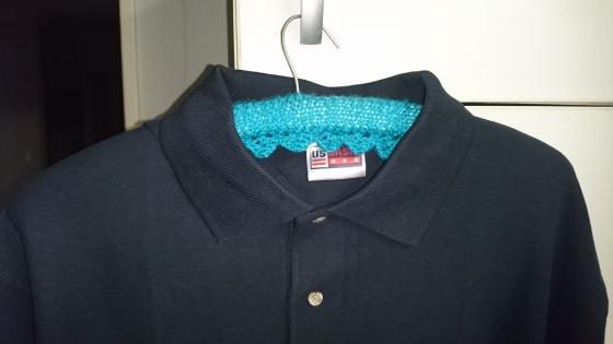 Navy Golf shirts