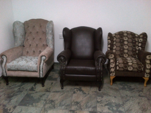 Newly made Wingback Chairs