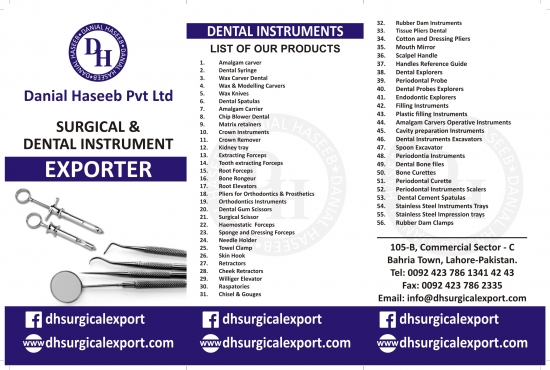 Dental and Surgical Instruments | Junk Mail