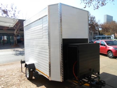 2.5M  X 1.6M X 2M Branded mobile kitchen