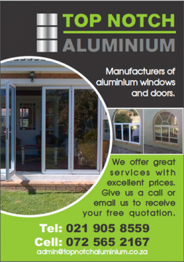 Aluminium Windows, Doors and Shopfronts