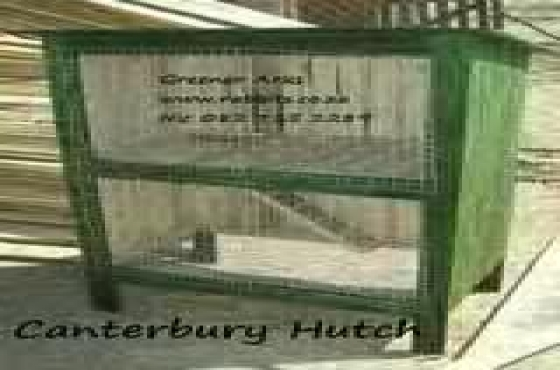 Rabbit hutches made to order