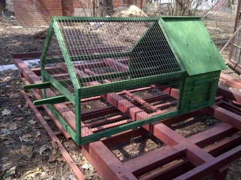 Duneden Chicken Ark with Run