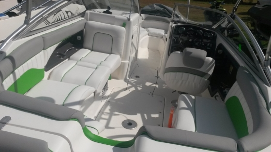 Upholstery for boat and Jetski by Coverworx