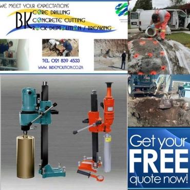 Core Drilling-Concrete Cutting-Rock Breaking/Blasting-Power