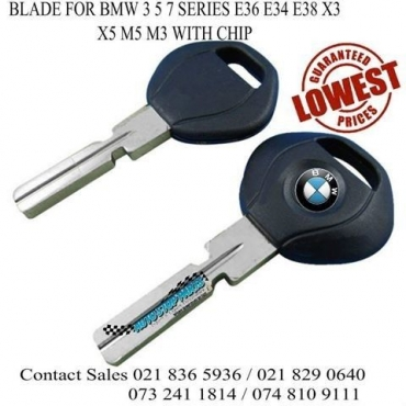 TRANSPONDER KEY FOR BMW 3 5 7 SERIES STOCK JUST LANDED CALL US NOW