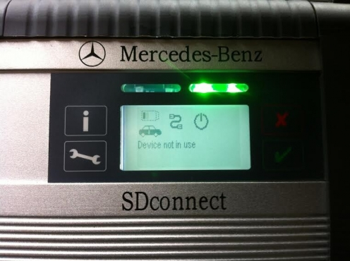 Mercedes Benz Star C4 Wireless MUX with full set cables and new Core i5 Dell Laptop