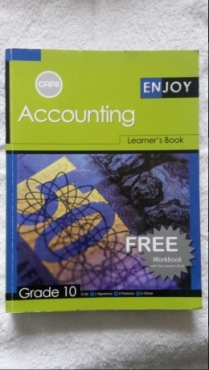 Accounting - Learners Book - Grade 10. for sale  Johannesburg - East Rand
