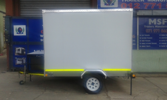 branded mobile cold room
