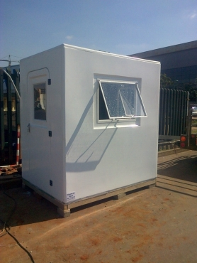 Fibreglass Guard Huts