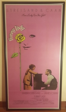 Large 3-Sheet Funny Lady Original Movie Poster