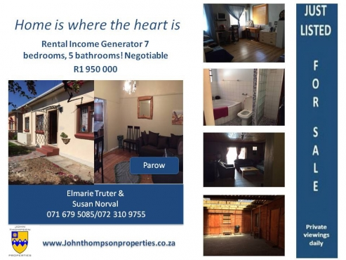 Large property with extra rental income !